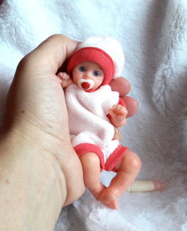 mini silicone doll full body