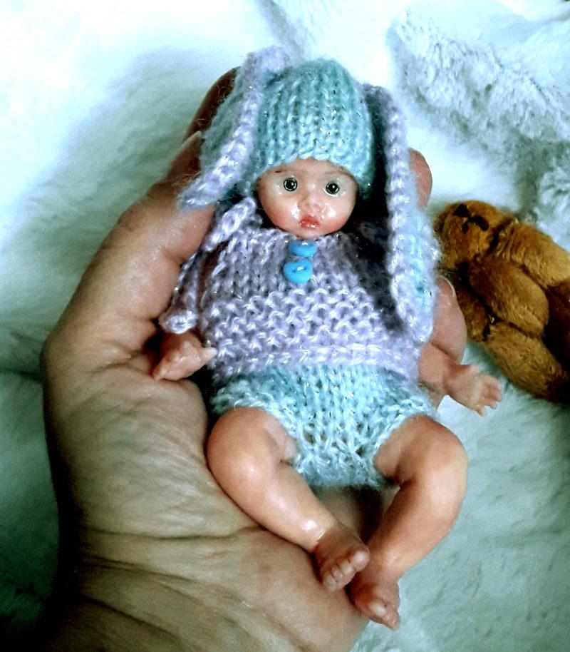 mini silicone doll full body