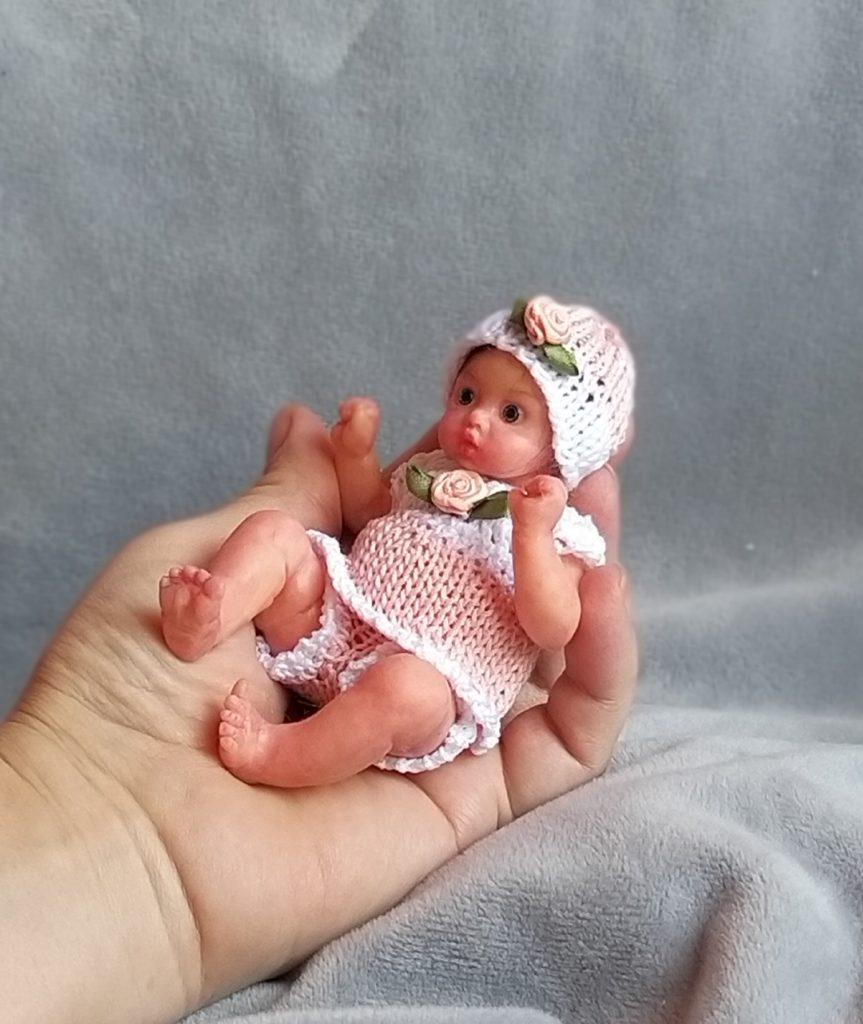 mini silicone doll