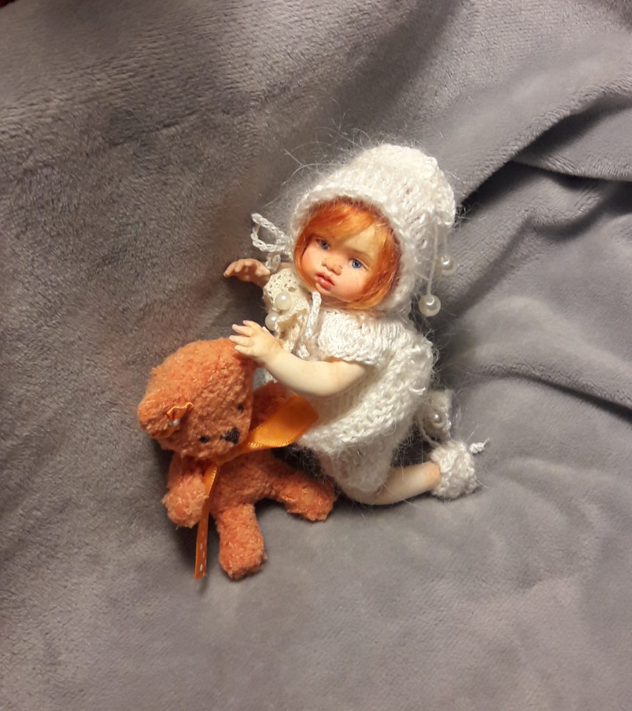 OOAK mini reborn doll