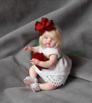 miniature reborn doll