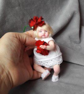 mini baby doll OOAK
