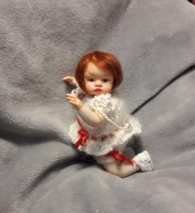 ooak mini art baby doll 2