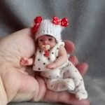 miniature baby doll OOAK