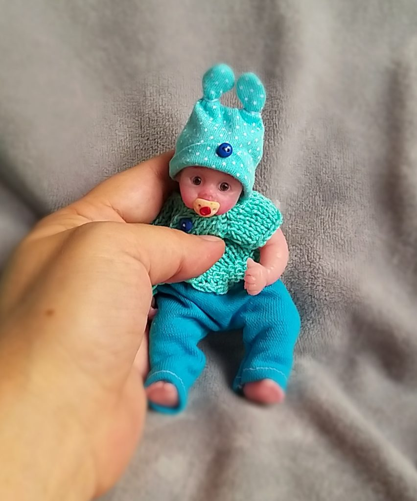 micro reborn website silicone babies cloth body by Kovalevadoll