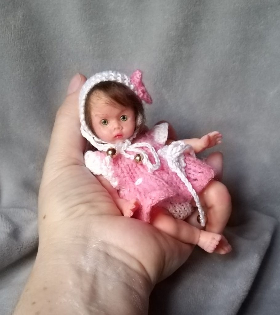 mini silicone baby for sale Kovalevadoll