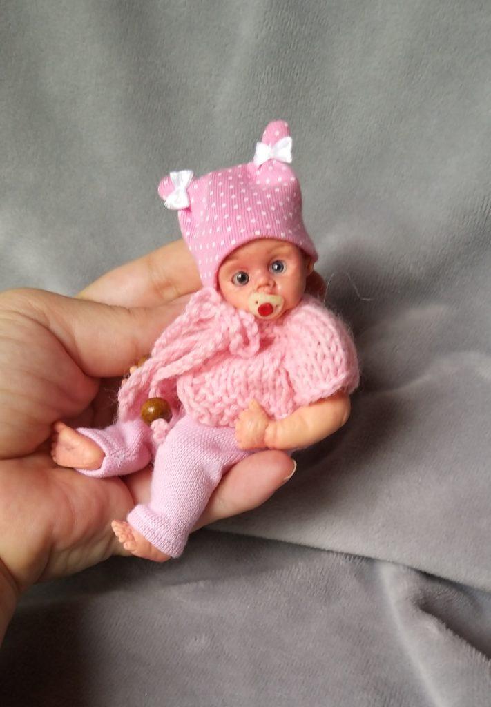miniature realistic reborn silicone cloth body Kovalevadoll