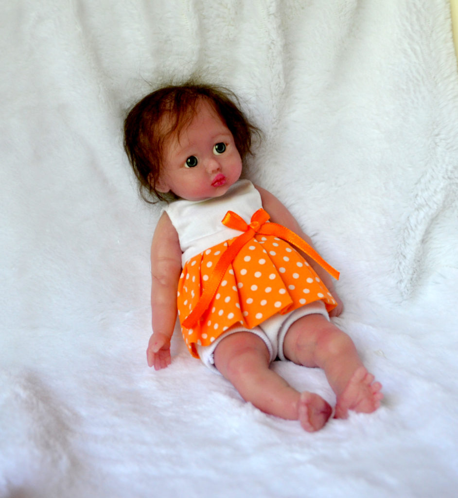 mini silicone baby doll