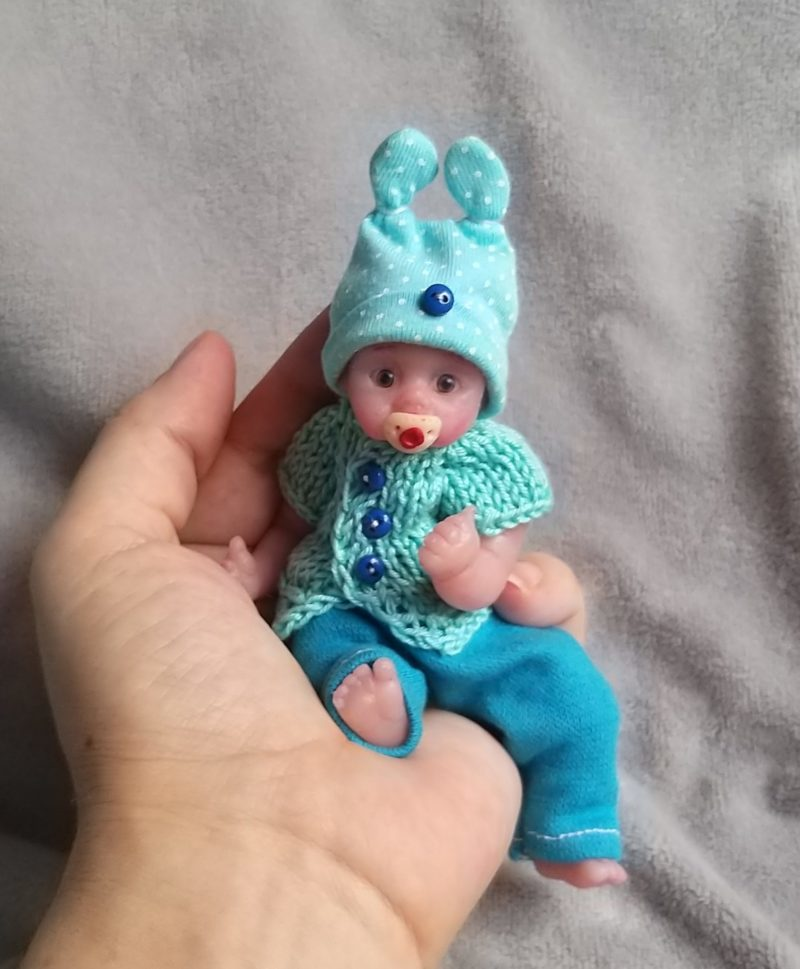 to buy micro reborn silicone babies cloth body by Kovalevadoll