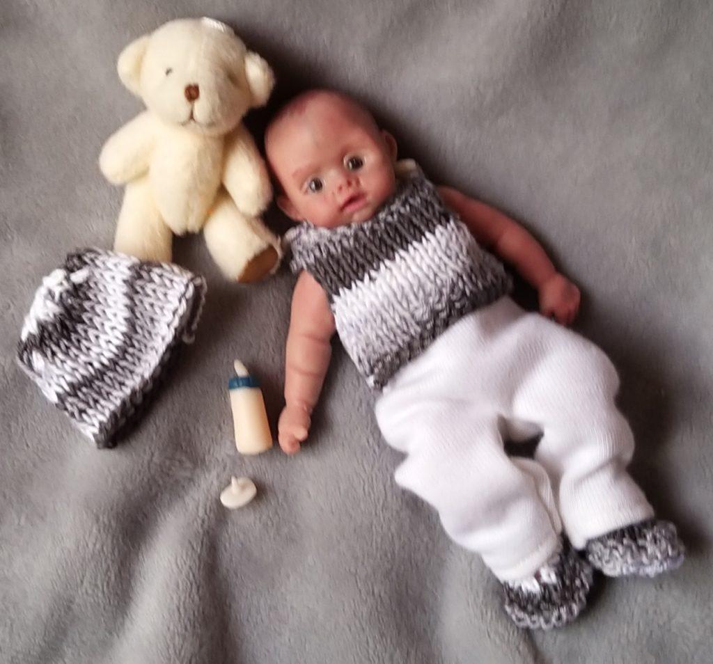 Mini silicone baby boy full body kovalevadoll