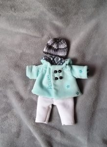 clothes for mini baby dolls set 4 inch 5 inch doll