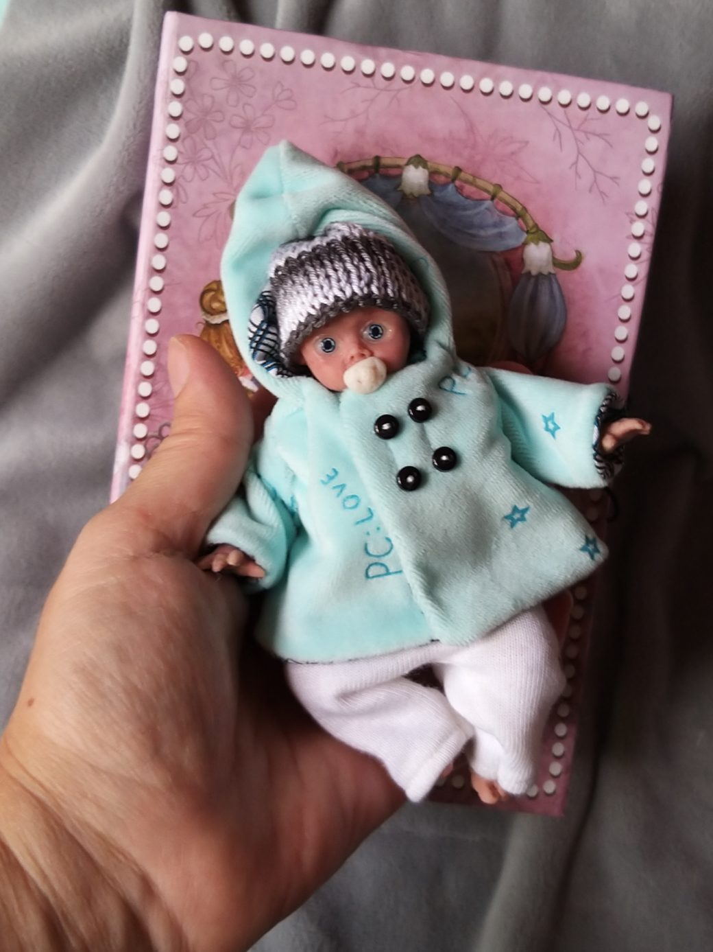 full silicone baby 5 inch kovalevadoll reborn babies