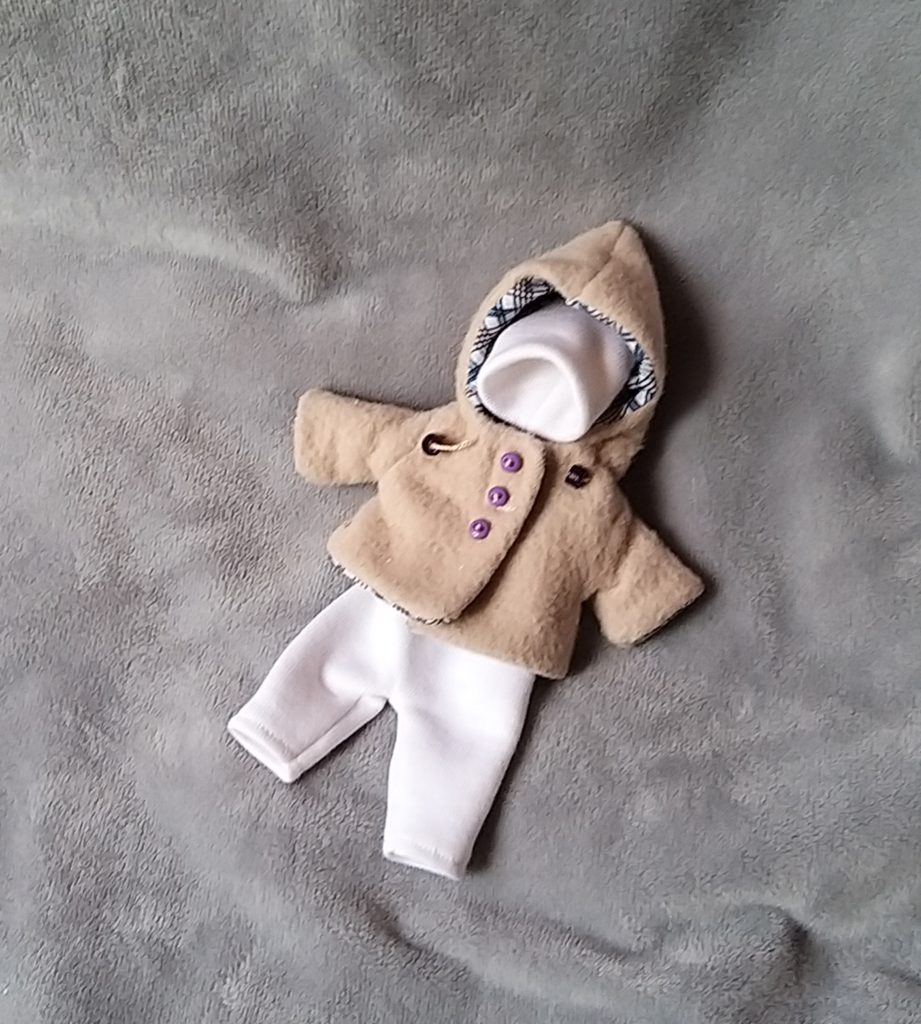 set of clothes for 5 inch silicone baby doll