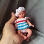silicone baby doll mini full body Kovalevadoll712