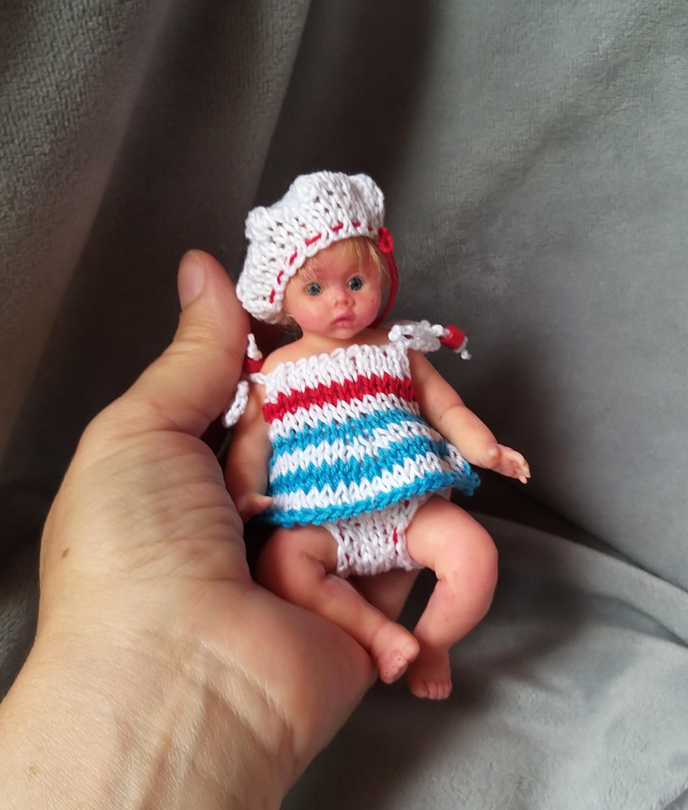 silicone baby doll mini full body Kovalevadoll712