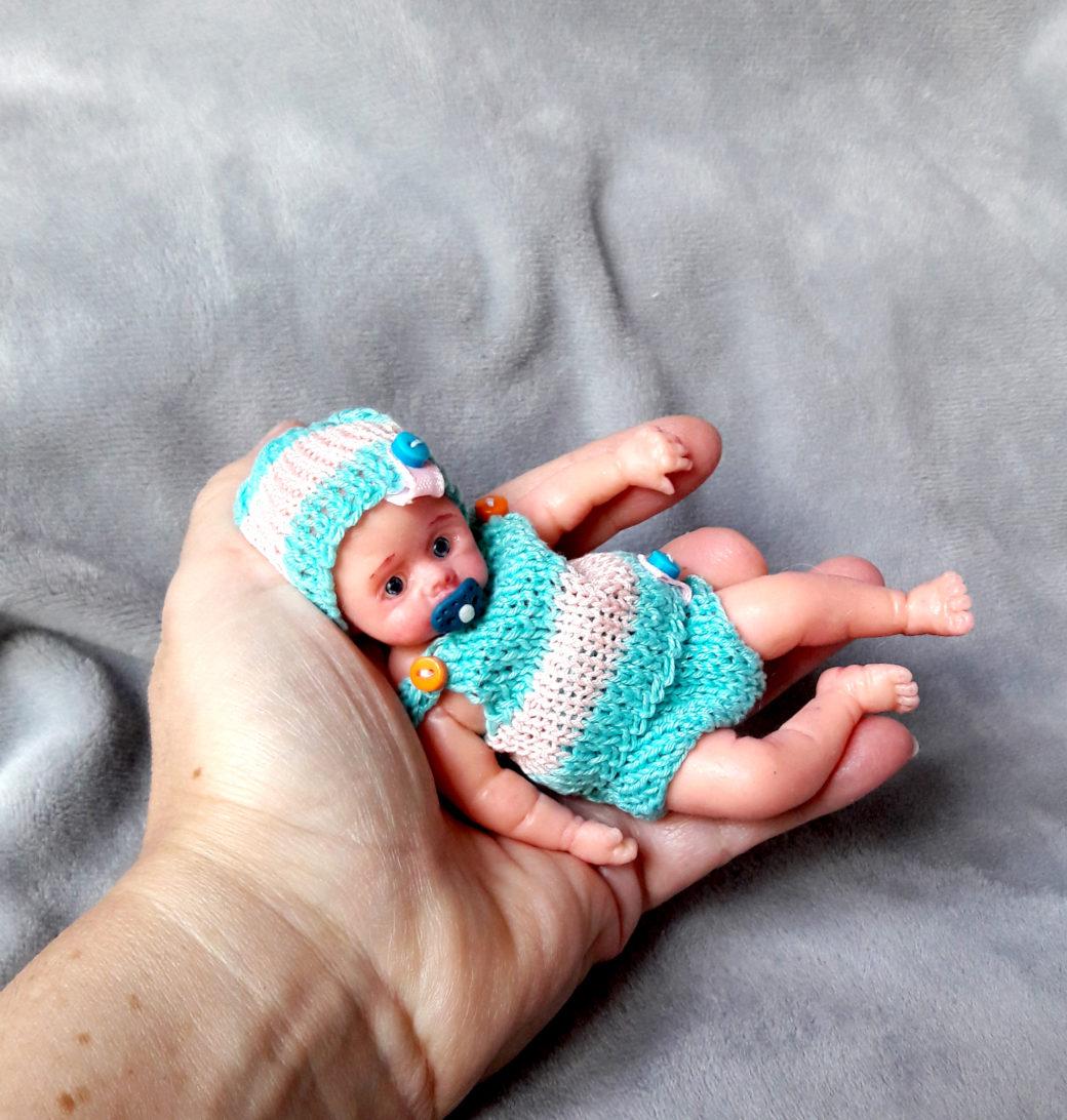 silicone reborn baby mini