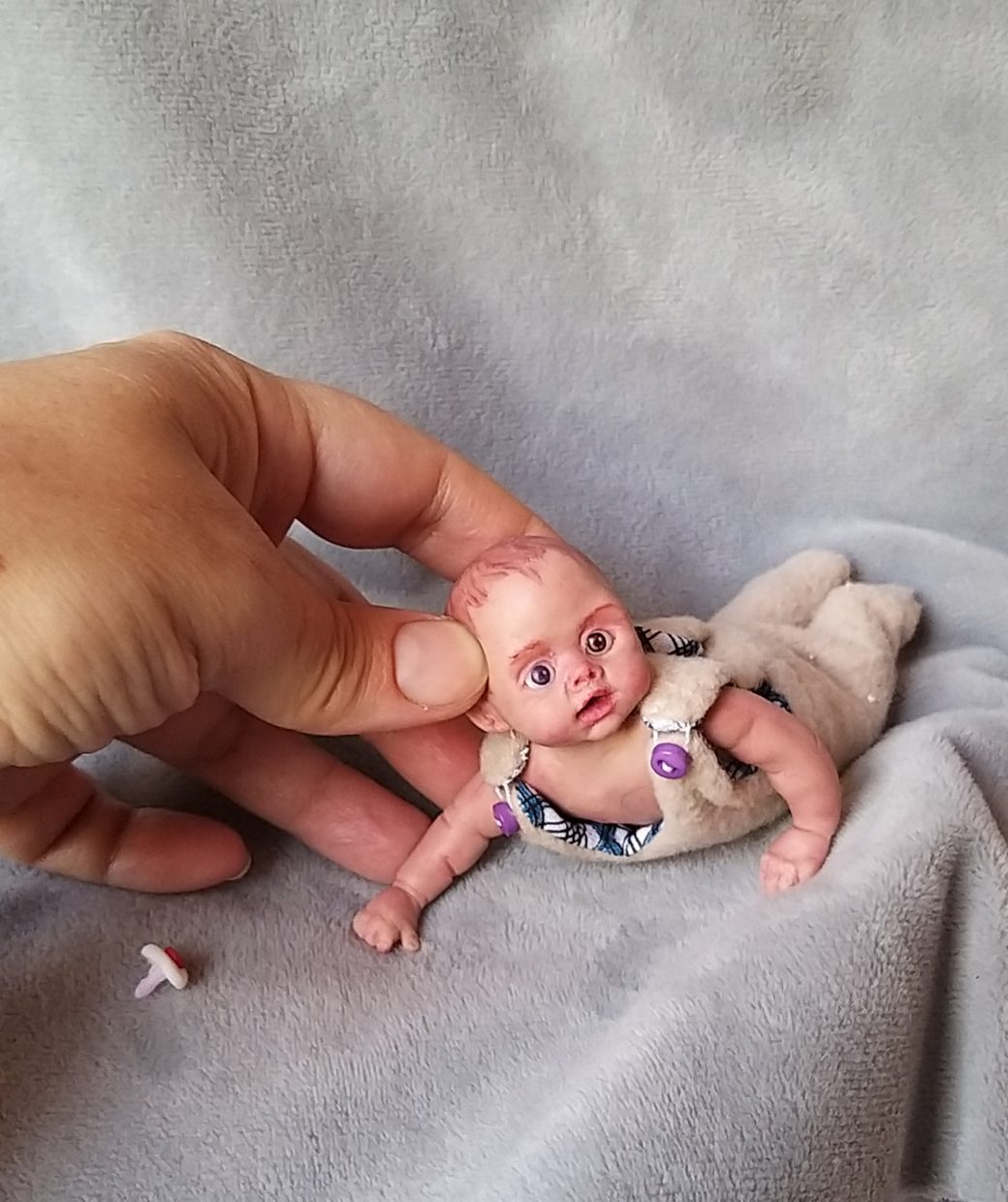 Mini silicone babies full body