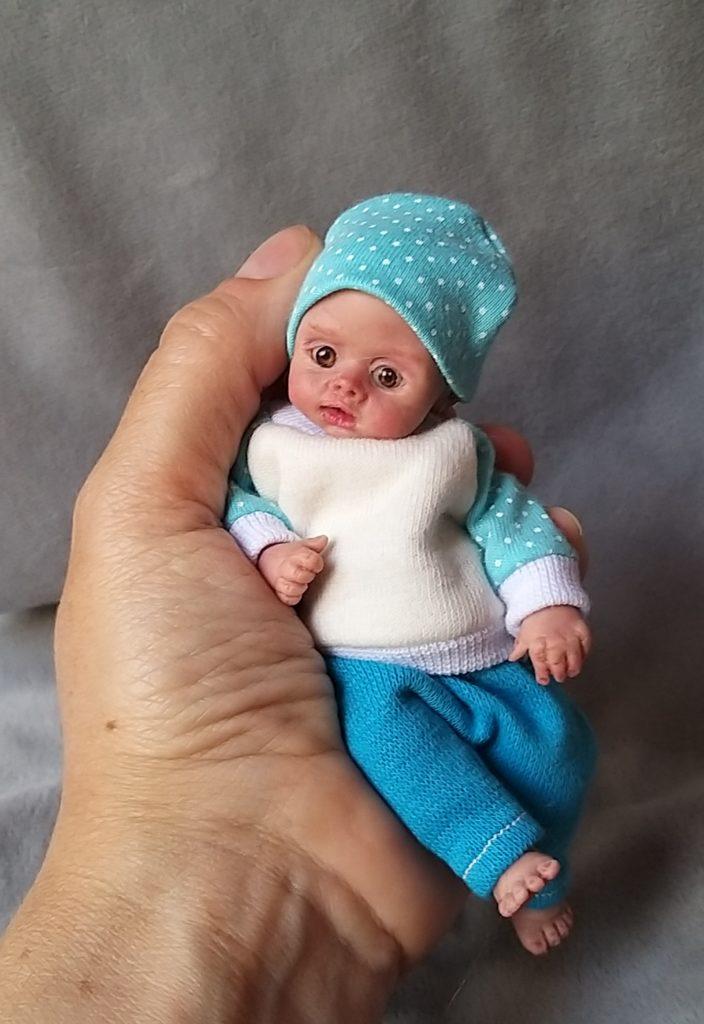 mini silicone baby doll kovalevadoll