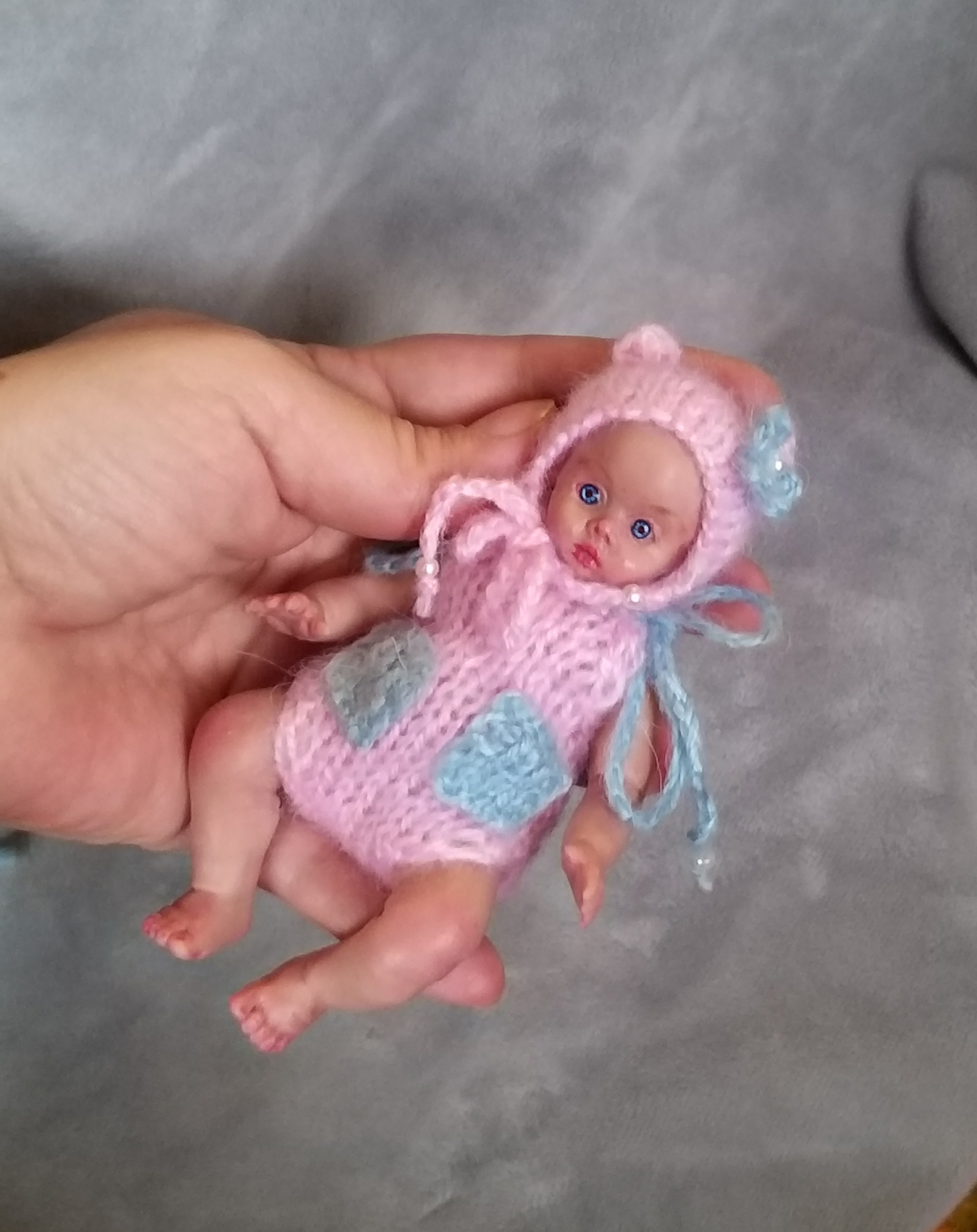 5 inch Realistic silicone babies