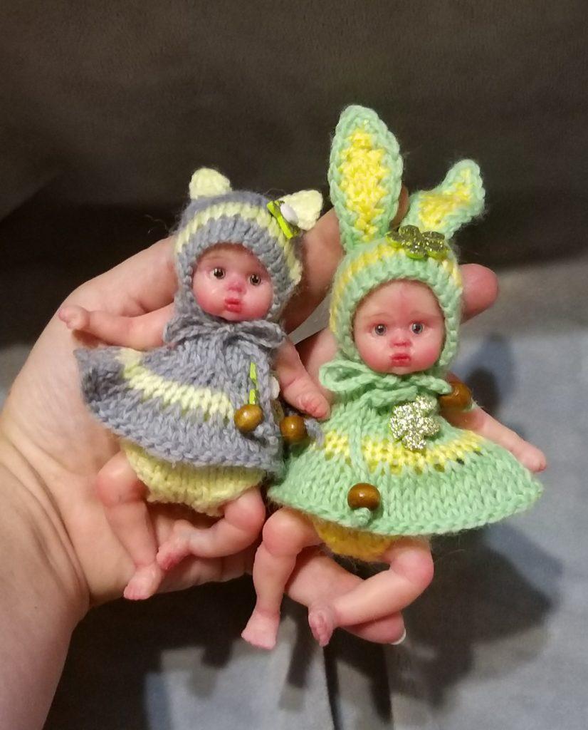 Mini silicone baby dolls kovalevadoll
