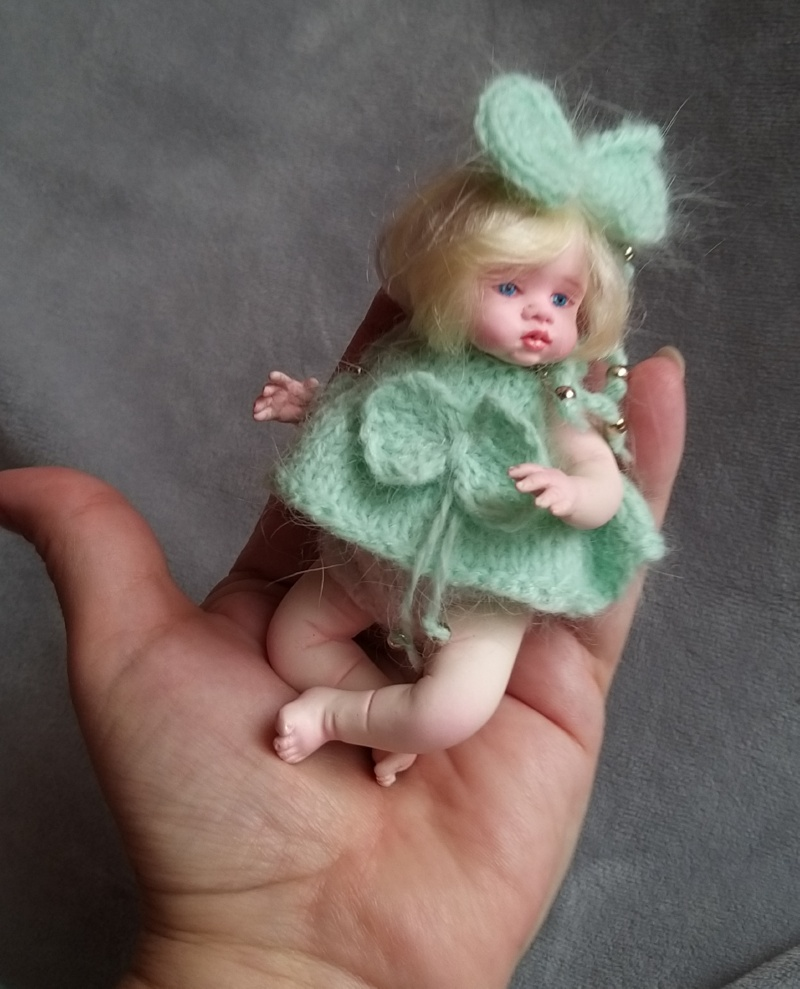 art collecible mini baby doll by kovalevadoll 14