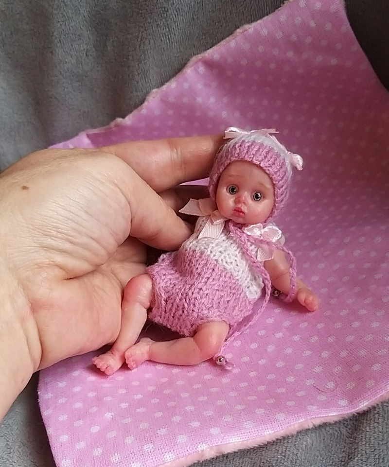 mini silicone baby doll 18