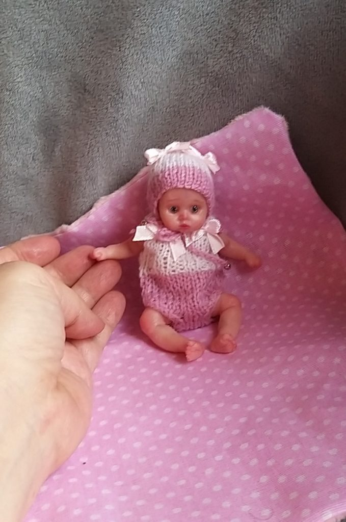 mini silicone baby doll 22