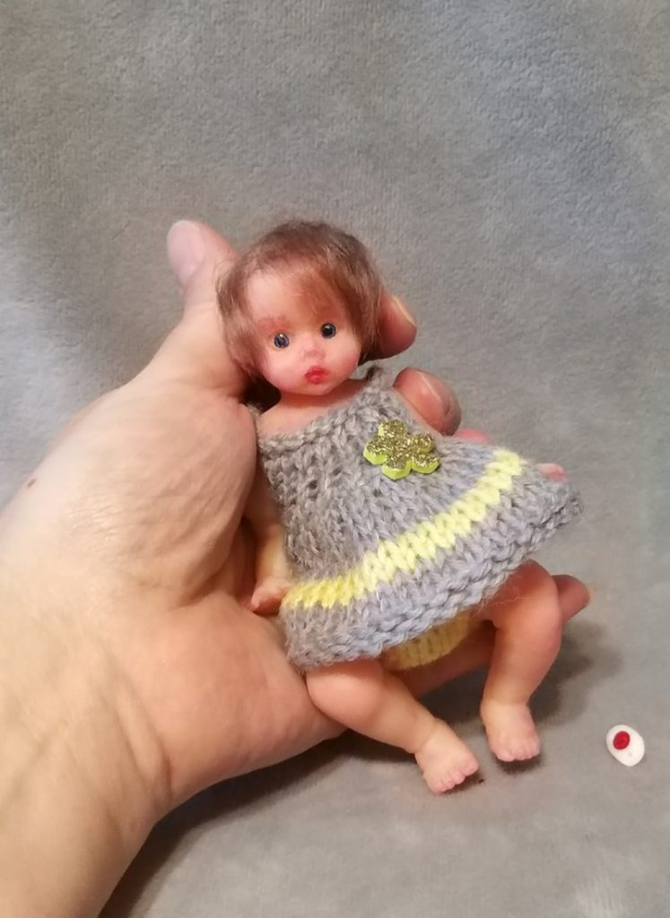 mini silicone girl doll 00 — копия