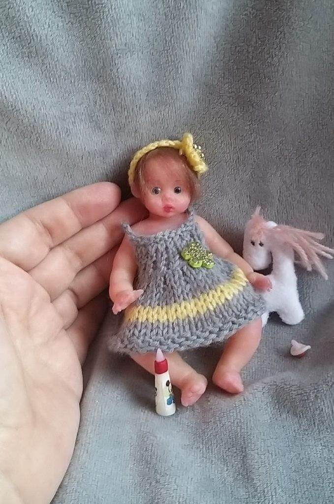 mini silicone girl doll 13