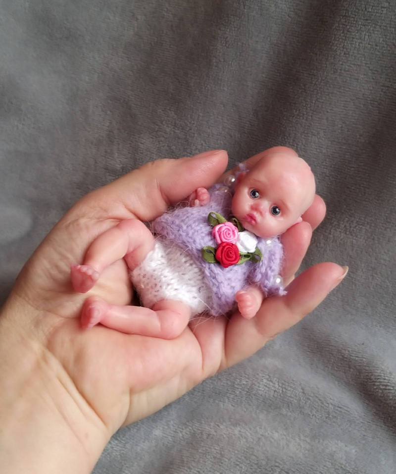 mini silicone reborn doll full body for sale by kovalevadoll 07