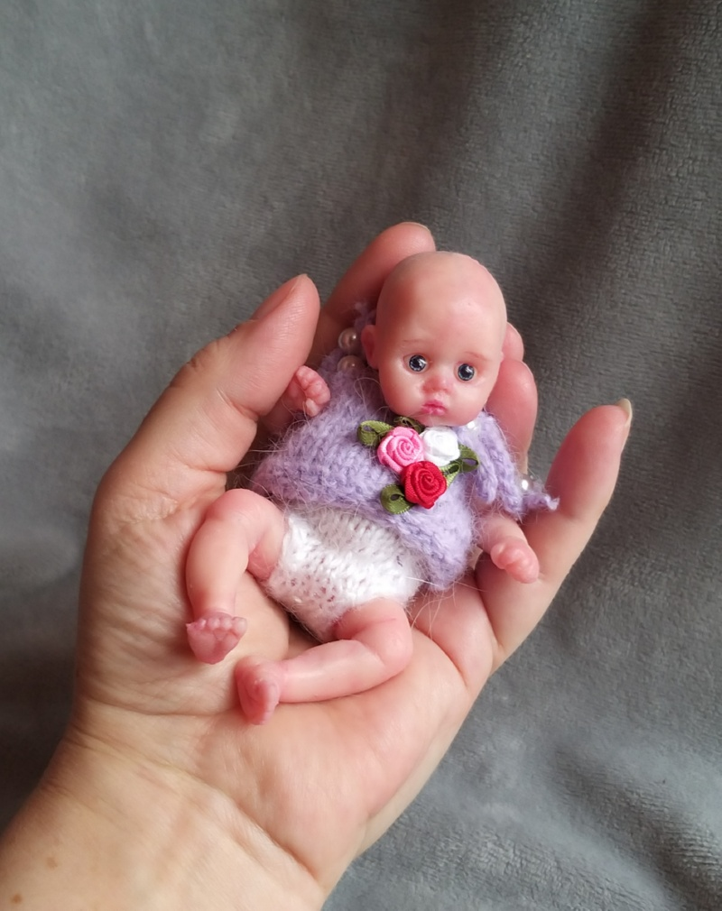 sold! mini full body silicone baby doll for sale ! kovalevadoll