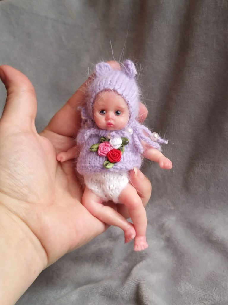 mini silicone reborn doll full body for sale by kovalevadoll 11