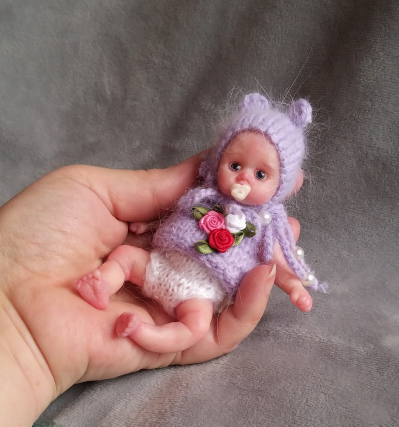 mini silicone reborn doll full body for sale by kovalevadoll 13