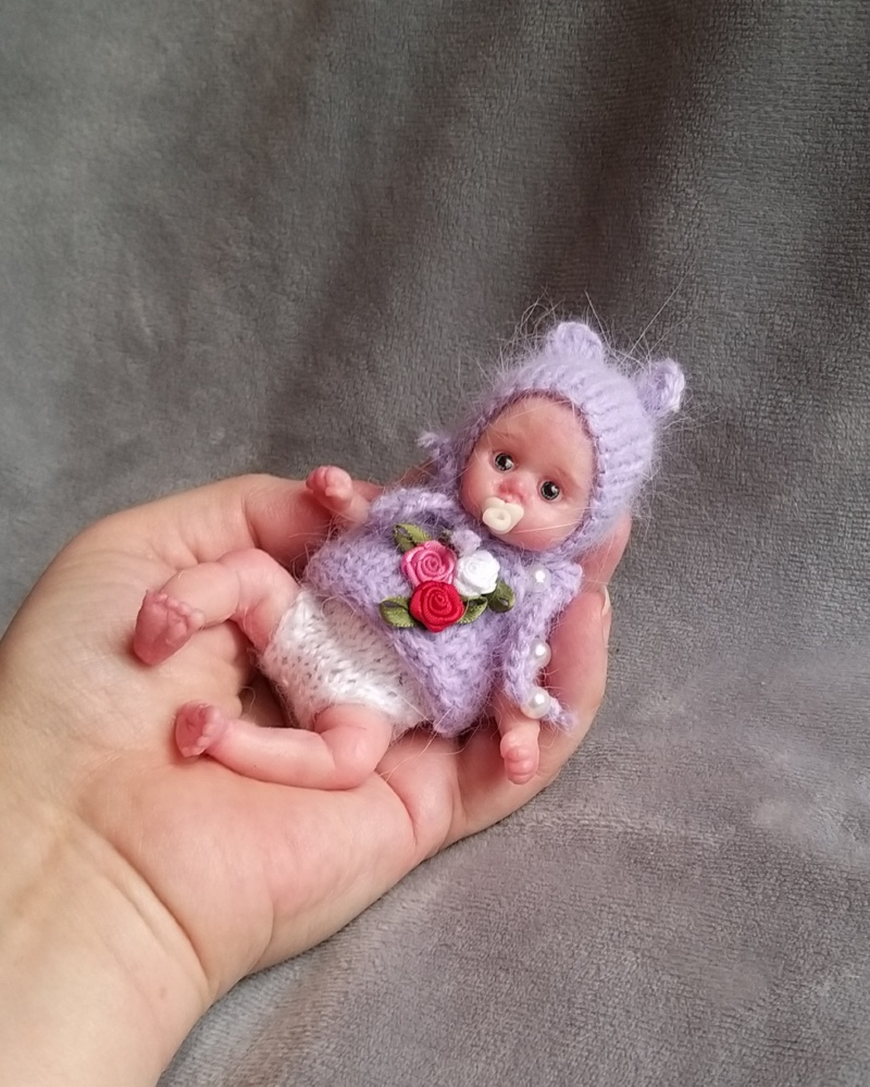 mini silicone reborn doll full body for sale by kovalevadoll 14