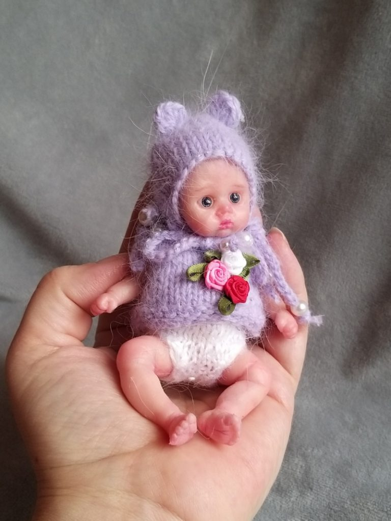 mini silicone reborn doll full body for sale by kovalevadoll 16