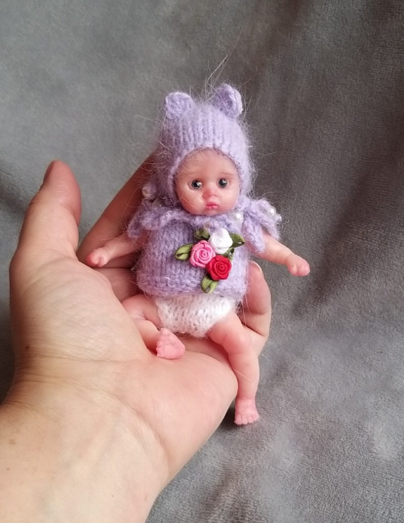 mini silicone reborn doll full body for sale by kovalevadoll 17