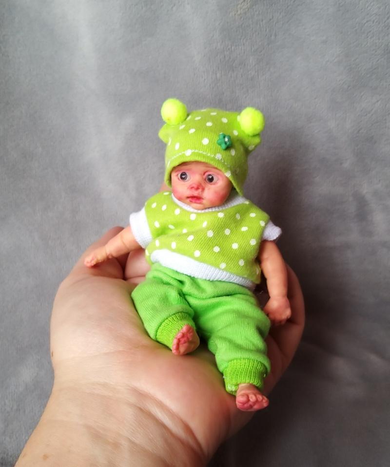 Mini silicone baby dolls 5 inch00