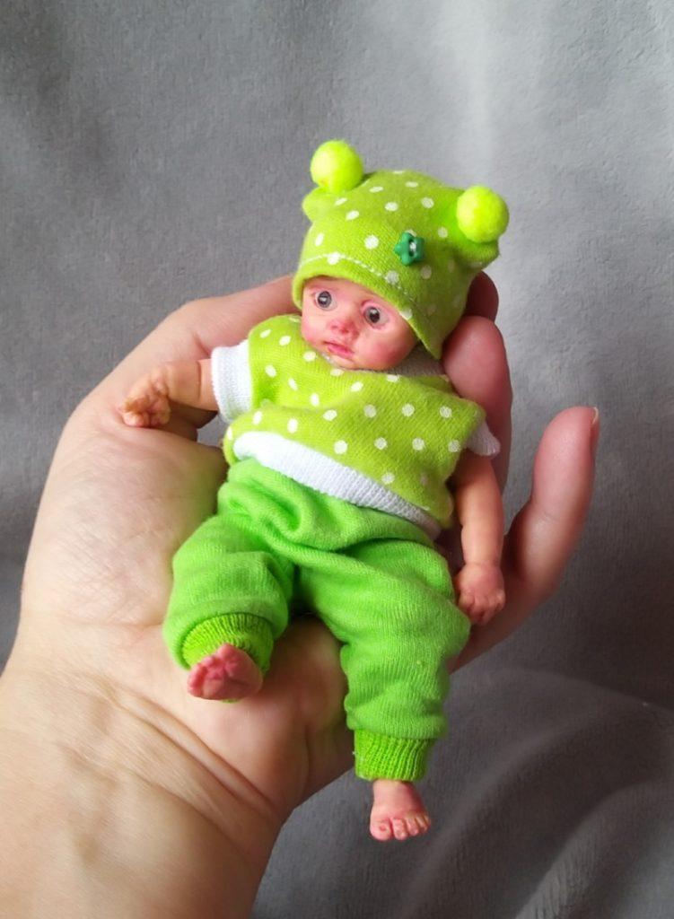 Tyni silicone baby dolls 5 inch