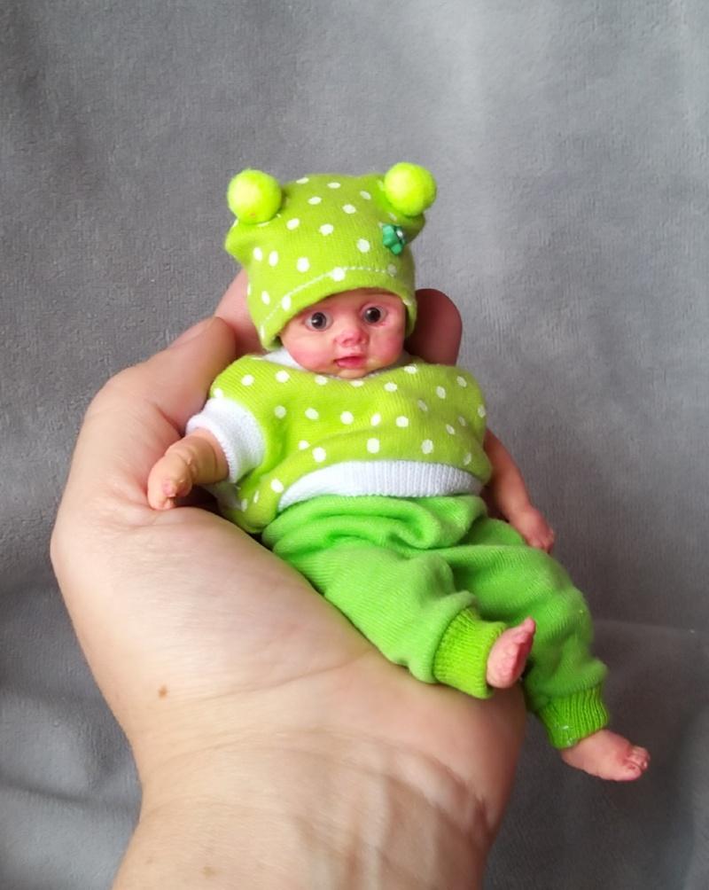 Mini silicone baby dolls 5 inch