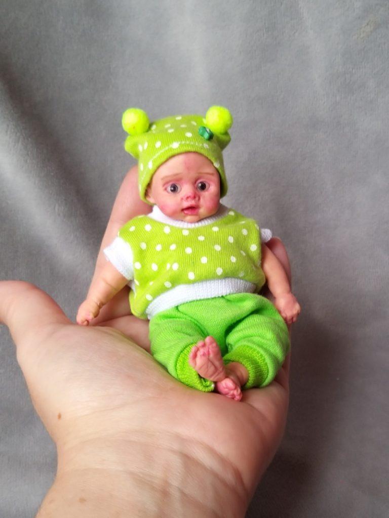 Mini silicone baby dolls 5 inch19