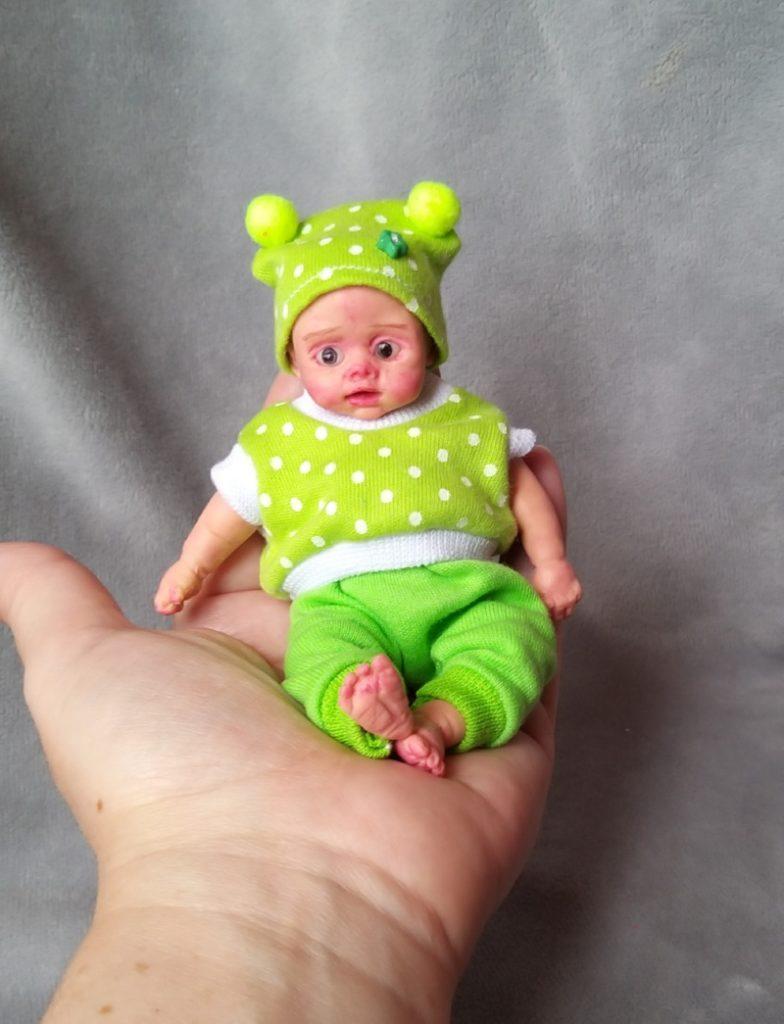 Mini silicone baby dolls 5 inch20