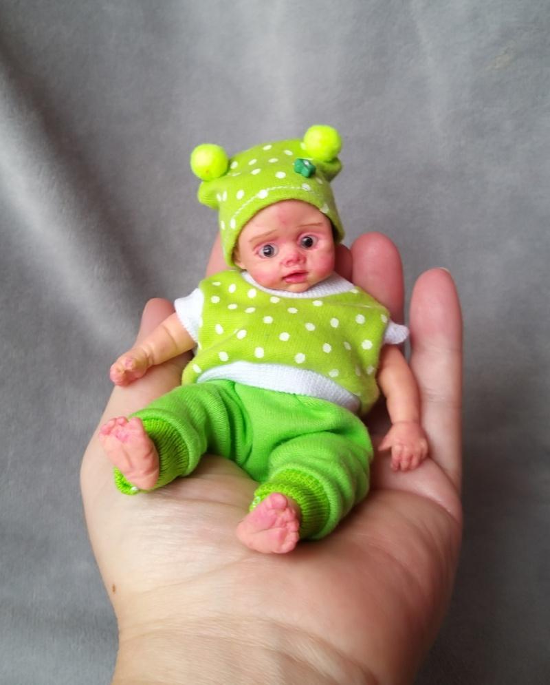 Mini silicone baby dolls 5 inch21
