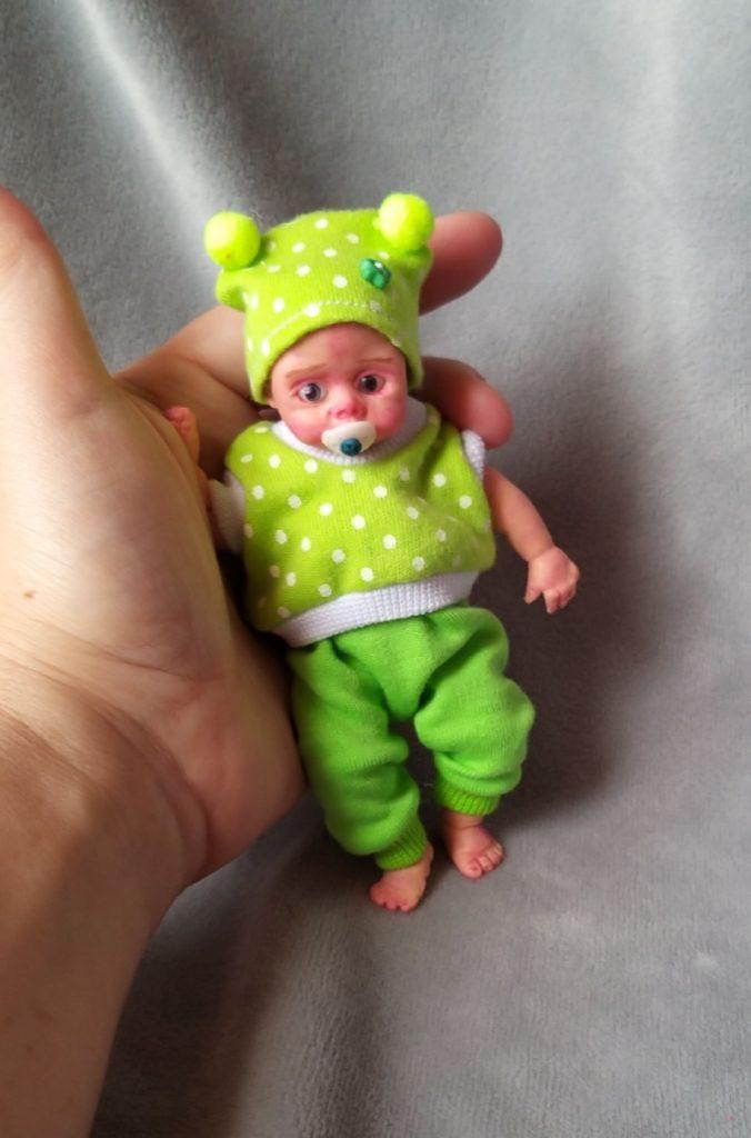 Mini silicone baby dolls 5 inch23