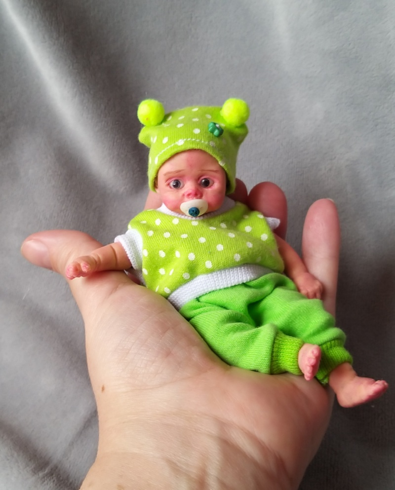 Mini silicone baby dolls 5 inch26