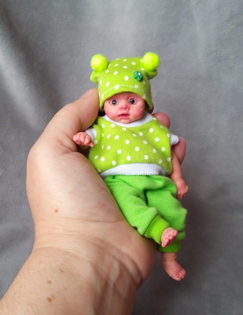 Mini silicone baby dolls 5 inch27