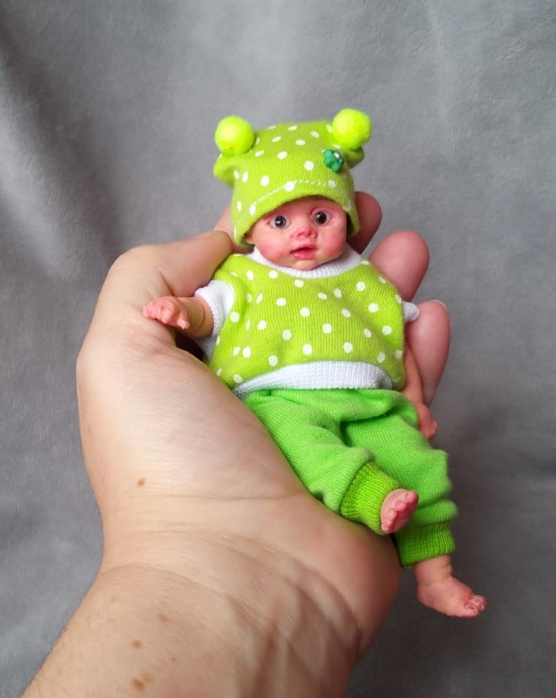 Mini silicone baby dolls 5 inch29