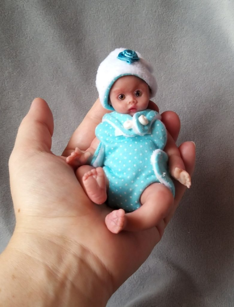 5 inch Miniature silicone baby dolls for sale