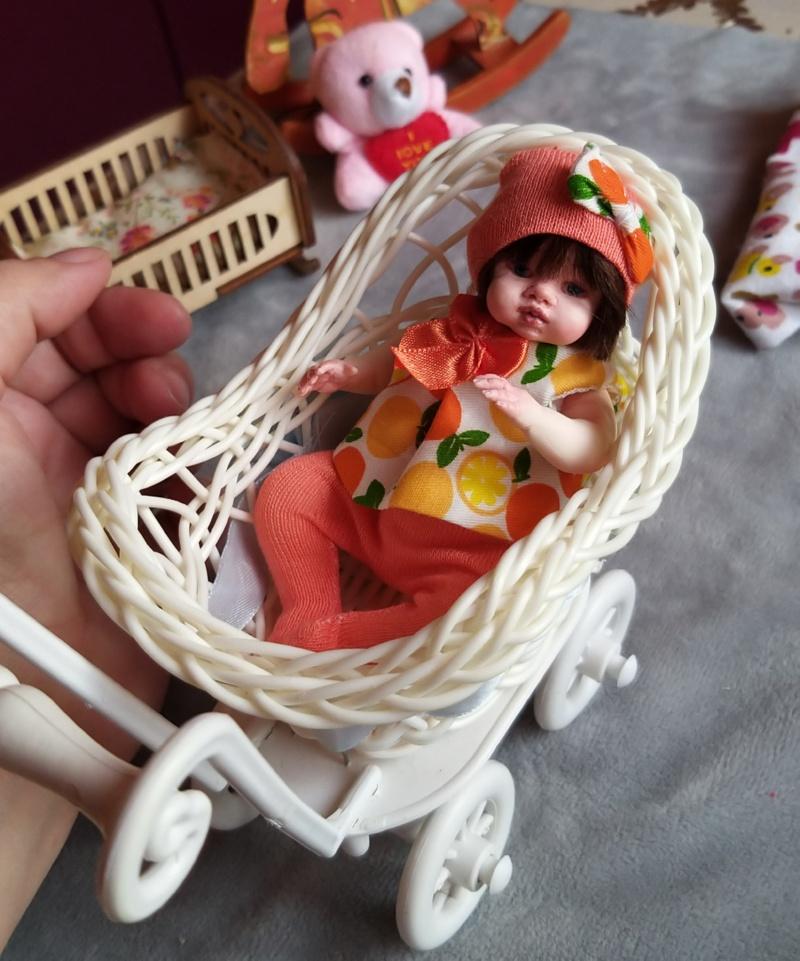 Polymer clay dolls miniature by Kovalevadoll 00
