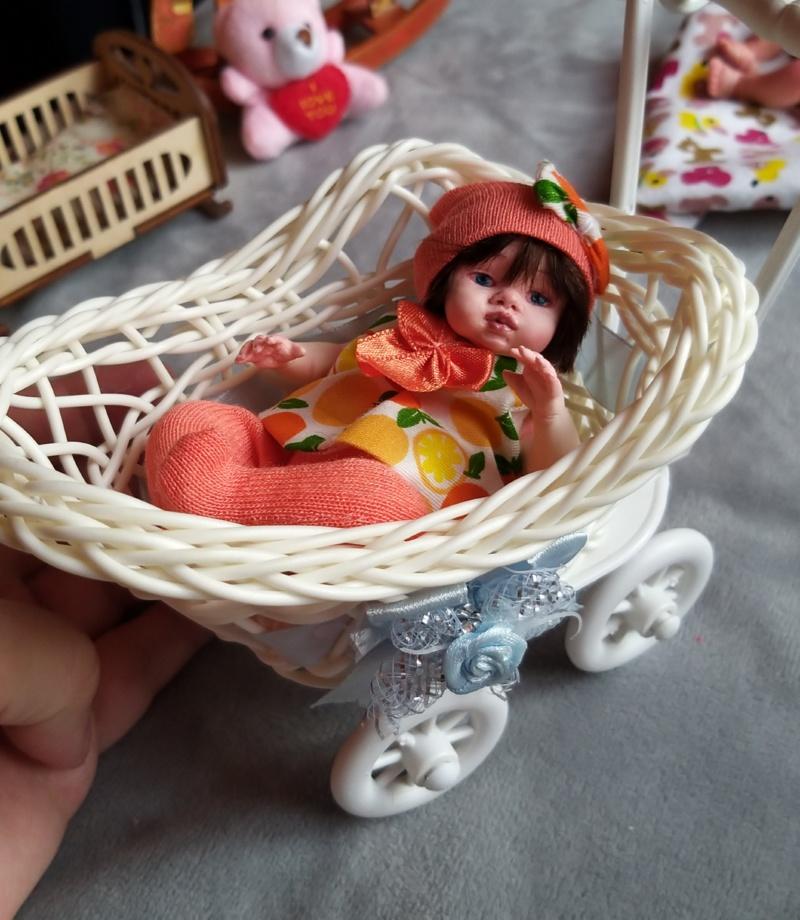 Polymer clay dolls miniature by Kovalevadoll 01