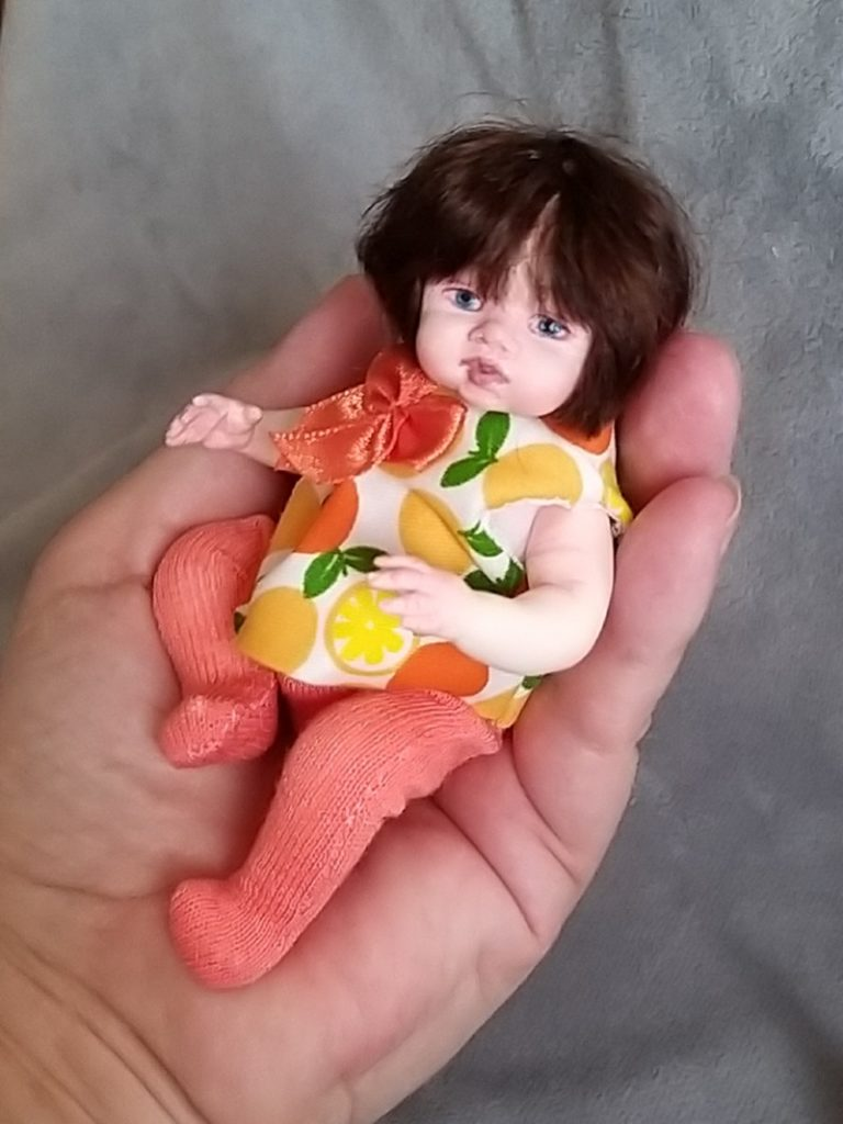 Polymer clay dolls miniature by Kovalevadoll 05